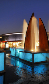 C968 - Dix30 Lifestyle Centre, Sculptural Fountain; Design by Fahey & Associates