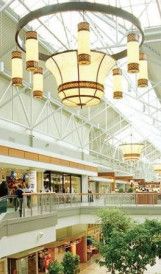 C720 - Pointe Claire Shopping Mall: Design by Gervais Harding Associates, Lighting Design by Gabriel Design