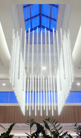 C1324 - Galeries Anjou - Chandelier; Design by Gabriel MacKinnon Design