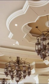 C907 - Harrah's Hotel hotel gas lighting - chandelier_Marnell Corrao & Associates 1