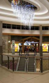 C1147- Chinook Mall - LED video-driven chandelier; Lighting Design by Gabriel MacKinnon