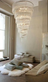 C894 - Ochre Showroom chandelier
