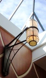 C534 - Hillcrest Mall, shopping mall light fixtures; Design by Pappas Design