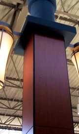 C657-  Limeridge shopping mall  - Retail, wall fixtures