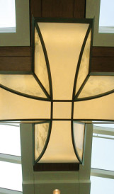 C0827- Market Mall, ceiling fixtures; Design by Cohos Evamy, Lighting Design by Gabriel Design