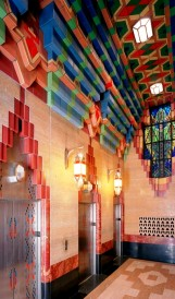 C851 - The Guardian Building  lanterns; Design by Illuminating Concepts